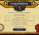 In Search of the Myreque/Quick guide