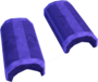 Purple crescent key detail