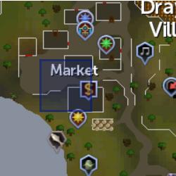 Bank guard location