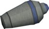 Canopic jar (pancreatic bile) detail