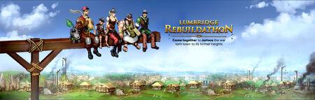 Lumbridge Rebuildathon banner