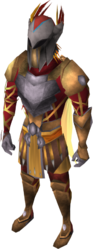 Warpriest of Armadyl set equipped