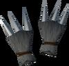 Werewolf claws (grey, male) detail