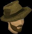 Arquéologo cabeça