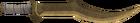 Bronze scimitar detail