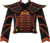 Dragon ceremonial breastplate detail