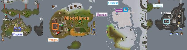 Memórias do passado glorioso mapa