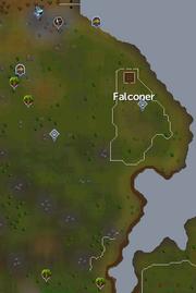 Piscatoris Hunter area map