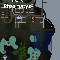 Small Rift (Port Phasmatys) location