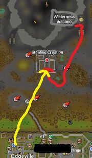 Stealing creation map
