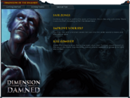 Dimension of the Damned (Getting Started) interface