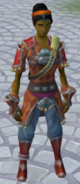 Fayre (Venturer) equipped (female)
