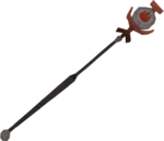 Fire talisman staff detail