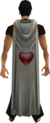 Hooded constitution cape equipped