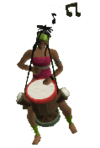 Karamja musician 2