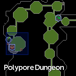 Merchant (Polypore Dungeon) location