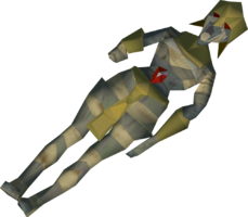 Mummy with no hand detail
