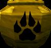 Plain hunter urn (unf) detail
