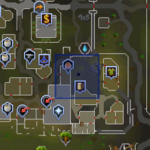 Rat Pit (Varrock) entrance location