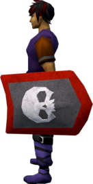 Rune kiteshield (Skull) equipped