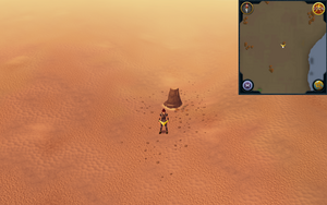 Scan clue Kharidian Desert north-east of Nardah