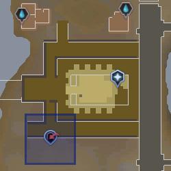 Sophanem Slayer Dungeon entrance location