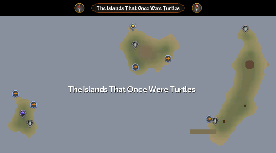 The Islands That Once Were Turtles scan