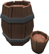 Bait barrel (built)
