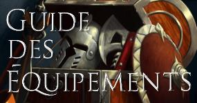 Guides des équipements