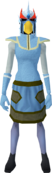 Mighty slayer helmet (cf) (red) equipped.png