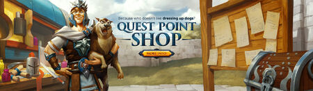 Quest Point Shop head banner
