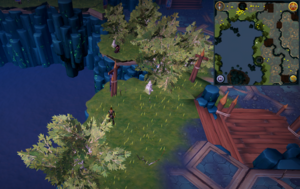 Scan clue Heart of Gielinor north-east of The Heart, north of node