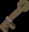 Shed key detail