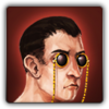 Sunglass monocles icon
