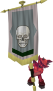 Banner carrier (skeleton)