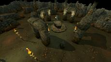 Earth Altar inside