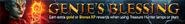 Genie's Blessing lobby banner