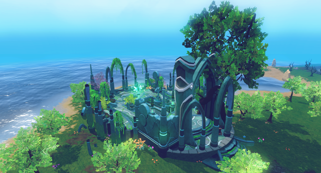 Memorial to Guthix | RuneScape Wiki | FANDOM powered by Wikia