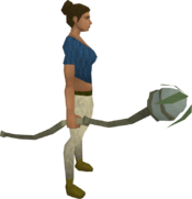 Nature staff equipped