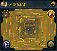 Puro-Puro on the minimap