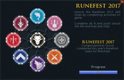Runefest 2017 task list (Complete) interface
