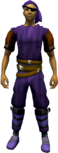 Bandana and eyepatch (purple, left) equipped.png