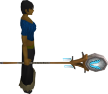 Banner of Armadyl equipped