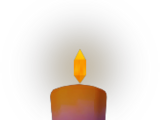 Candle (purple)