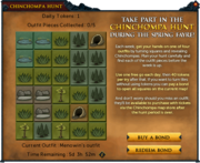 Chinchompa Hunt interface