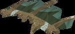 Dromomastyx hide detail