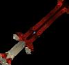 Espada de duas mãos do dragão detalhe