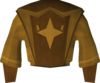 Golden Akrisae's robe top detail