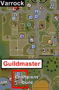 Guildmaster npc