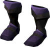 Miner boots (mithril) detail